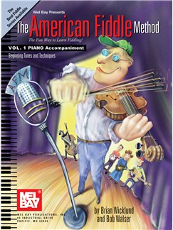 The American Fiddle Method, Volume 1 -  Piano Accompaniment Books | Violin