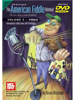 The American Fiddle Method: Volume 2 DVDs / Videos | Violin