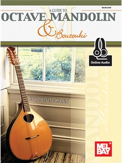 John McGann: Guide To Octave Mandolin And Bouzouki (Book/Online Audio) Books and Digital Audio | Mandolin
