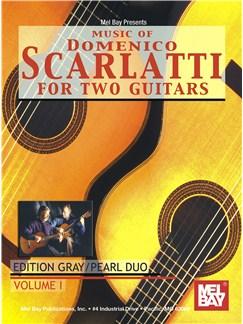 Music Of Domenico Scarlatti For Two Guitars Books | Guitar