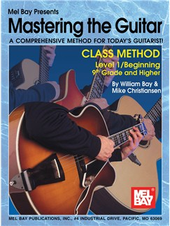 Mastering the Guitar Class Method 9th Grade & Higher Books | Guitar