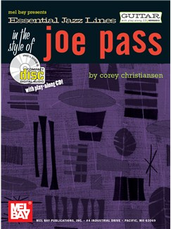 Essential Jazz Lines In The Style Of Joe Pass Books | Guitar