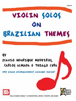 Violin Solos on Brazilian Themes Books | Violin