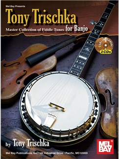 The Tony Trischka Master Collection of Fiddle Tunes for Banjo Books and CDs | Banjo, Banjo Tab