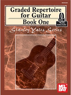 Stanley Yates: Graded Repertoire For Guitar - Book One (Book/Online Audio) Bog og Digitale Audio | Guitar