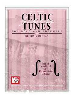 Celtic Fiddle Tunes for Solo and Ensemble - Viola, Violin 3 Books | Viola