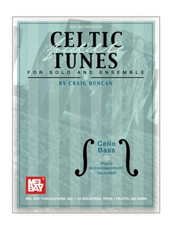 Celtic Fiddle Tunes for Solo and Ensemble - Cello, Bass Books | Cello