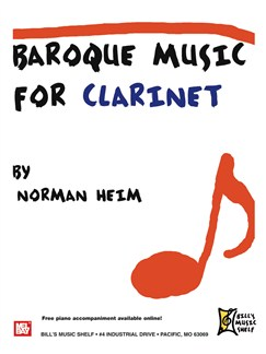 Baroque Music for Clarinet Books | Clarinet