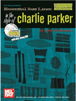 Essential Jazz Lines: Bb Edition Style Of Charlie Parker Books and CDs | B Flat Instruments
