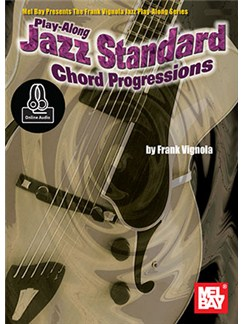 Play-Along Jazz Standard Chord Progressions (Book/Online Audio) Books and Digital Audio | Guitar Tab