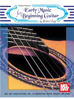 Early Music for Beginning Guitar Books | Guitar