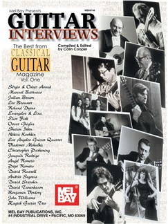 Guitar Interviews: The Best From Classical Guitar Magazine Vol. 1 Guit Books |