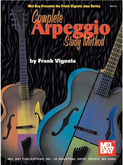 Complete Arpeggio Study Method Books | Guitar