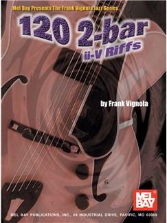 120 2-Bar II-V Riffs Books | Guitar