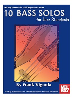 Frank Vignola: 10 Bass Solos For Jazz Standards Books | Bass Guitar