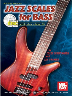 Jazz Scales for Bass Books and CDs | Bass Guitar, Bass Guitar Tab