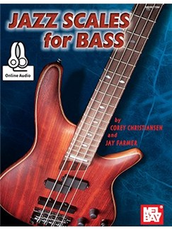 Jazz Scales For Bass Books | Electric Guitar