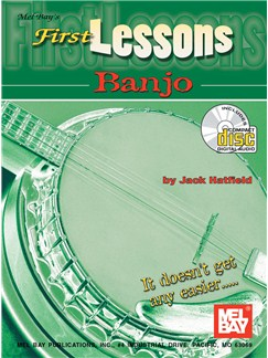Jack Hatfield: First Lessons Banjo Books and CDs | Banjo, Banjo Tab