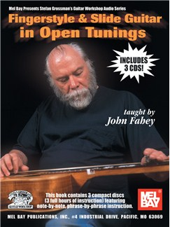 Fingerstyle & Slide Guitar in Open Tunings Books and CDs | Guitar