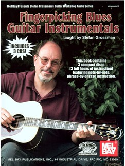 Fingerpicking Blues Guitar Instrumentals Books and CDs | Guitar