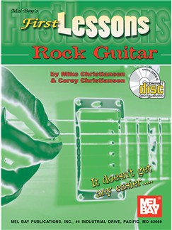 First Lessons Rock Guitar Books and CDs   Guitar