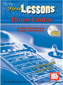 First Lessons Blues Guitar Books and CDs | Guitar