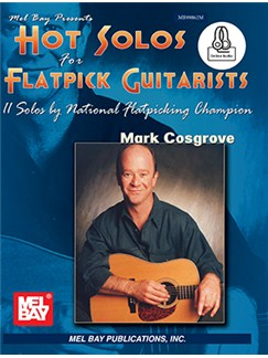 Hot Solos For Flatpick Guitarists Books | Guitar