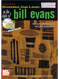 Essential Jazz Lines In The Style Of Bill Evans Books and CDs | Piano