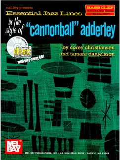 Essential Jazz Lines In The Style Of Cannonball Adderly Bc Inst Bk/Cd Books |