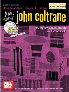 Essential Jazz Lines In The Style Of John Coltrane Books | Guitar