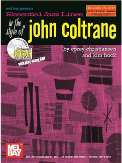 Essential Jazz Lines: Bass Clef In The Style Of John Coltrane Books and CDs | Bass Clef Instruments