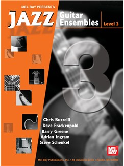 Jazz Guitar Ensembles Level 3 Books | Guitar