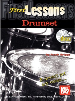 First Lessons Drumset Books and CDs | Drums