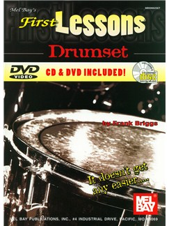 First Lessons Drumset Books, CDs and DVDs / Videos | Drums