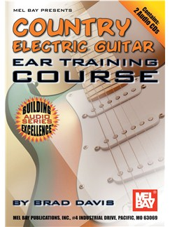 Country Electric Guitar Ear Training Course CDs | Guitar