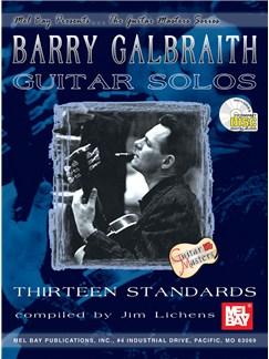 Barry Galbraith: Guitar Solos Volume One Books and CDs | Guitar