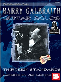 Jim Lichens: Barry Galbraith Guitar Solos - Thirteen Standards (Book/Online Audio) Books and Digital Audio | Guitar