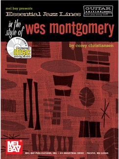 Essential Jazz Lines in the Style of Wes Montgomery Books and CDs | Guitar