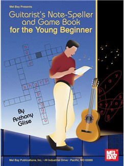 Guitarist's Note-Speller and Game Book for the Young Beginner Books | Guitar