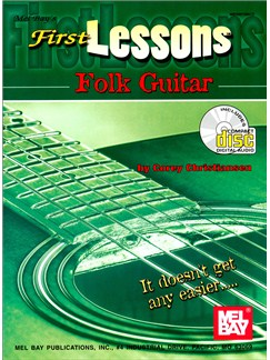 First Lessons Folk Guitar Books and CDs | Guitar