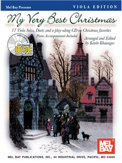 My Very Best Christmas, Viola Edition Books and CDs | Viola