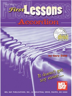 Gary Dahl: First Lessons Accordion Books and CDs   Accordion