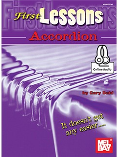 Gary Dahl: First Lessons Accordion (Book/Online Audio) Books and Digital Audio | Accordion