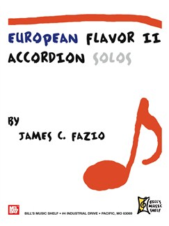 European Flavor II (Accordion Solos) Books | Accordion