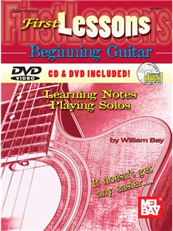 First Lessons Beginning Guitar Books, CDs and DVDs / Videos | Guitar