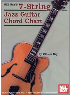 Mel Bay's 7-String Jazz Guitar Chord Chart    Guitar