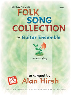 Folk Song Collection for Guitar Ensemble Books | Guitar