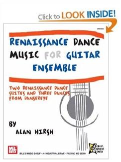 Renaissance Dance Music for Guitar Ensemble Books   Guitar