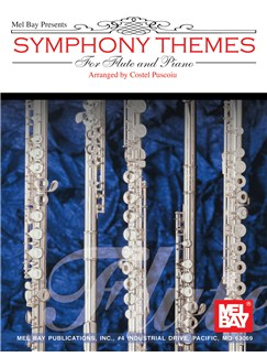Symphony Themes for Flute and Piano Books | Flute