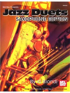 Jazz Duets, Saxophone Edition Books | Saxophone